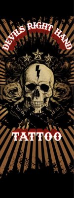 Devil's Right Hand Tattoo logo